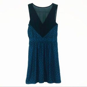 BCBGeneration | 2 | Teal Polka Dot Dress